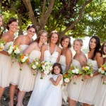 Neutral Bridal Party