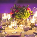 Purple Wedding Table Display